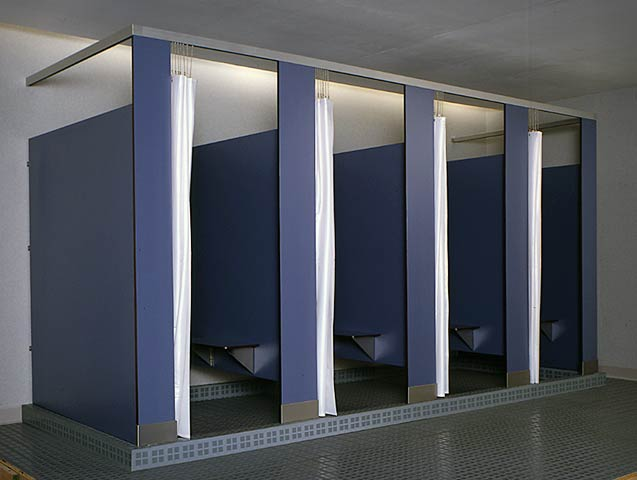 McClain Associates Bobrick Toilet Partitions Compartments - Bobrick bathroom partitions
