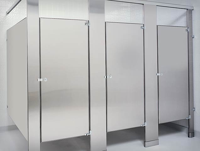 Bathroom Partition metpar overhead braced stainless steel bathroom partition components Mcclain Associates Toilet Partitions Compartments Sales And Installation Of Specialty Commercial Building Products In Rochester Ny Division 10
