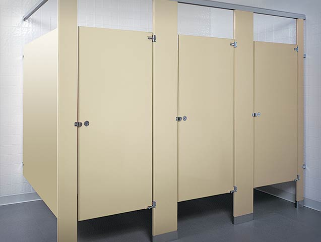 McClain Associates Global Partitions Toilet Partitions - Global bathroom stalls