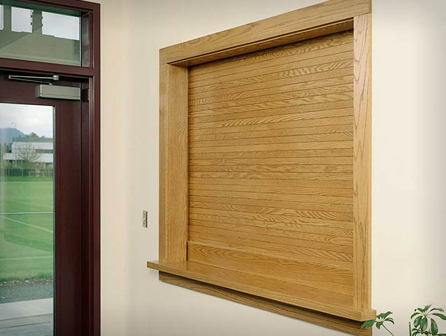 McClain Associates   Woodfold Shutters And Roll Up Doors   Sales And  Installation Of Specialty Commercial Building Products In Rochester, NY    Division 10