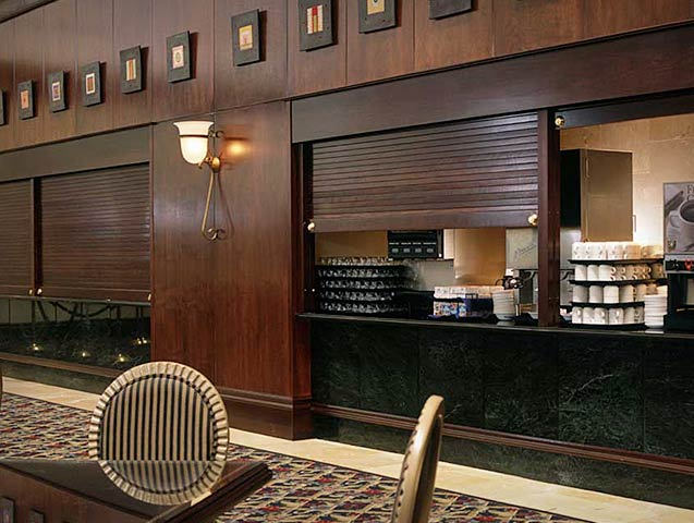 Incroyable McClain Associates   Woodfold Shutters And Roll Up Doors   Sales And  Installation Of Specialty Commercial Building Products In Rochester, NY    Division 10